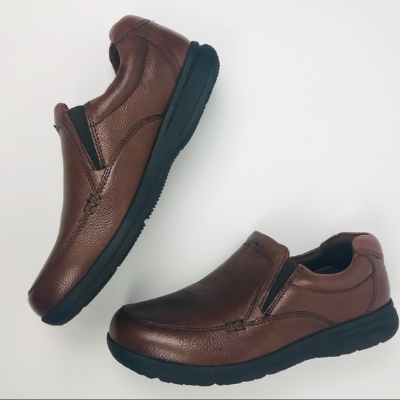 Nunn Bush Extra Wide Leather Loafers